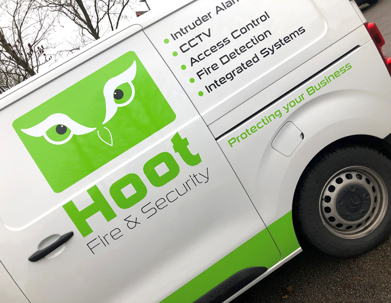 Green owls across UK road network