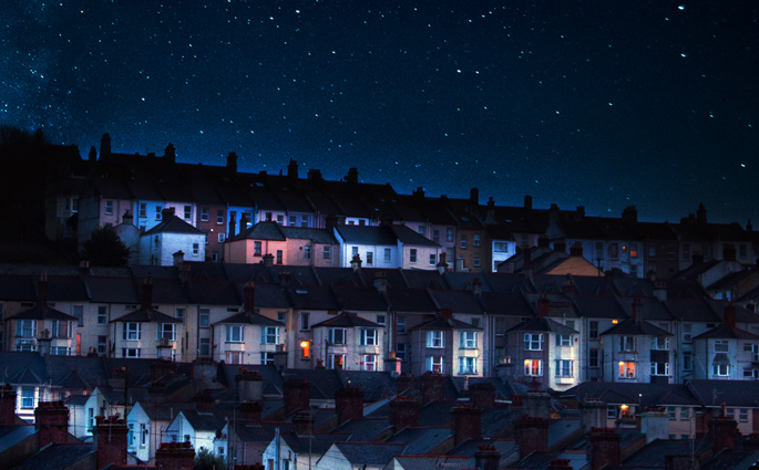 Protect your Property on Dark Winter Nights